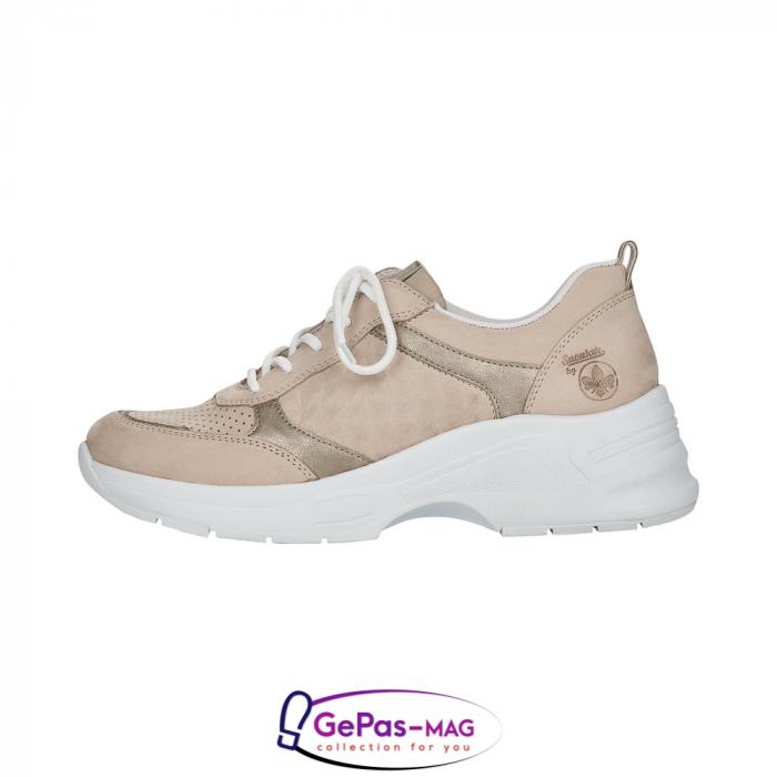 Pantofi dama tip sneakers, piele naturala, 59426-60 2