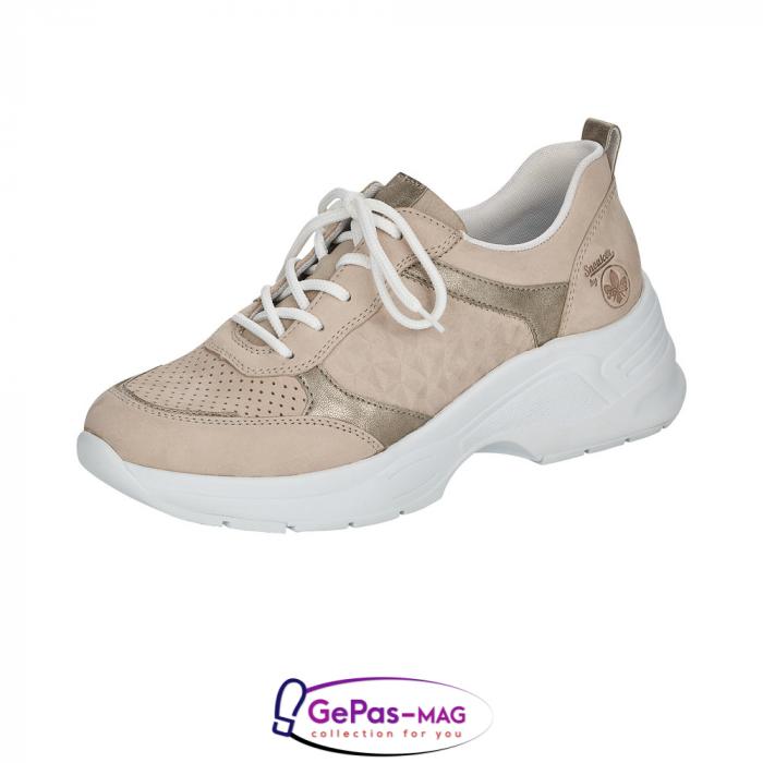 Pantofi dama tip sneakers, piele naturala, 59426-60 0