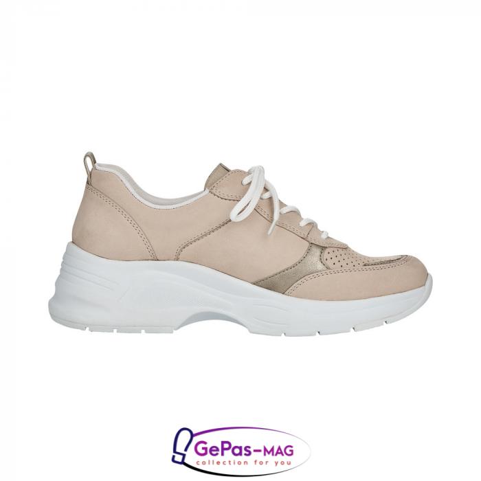 Pantofi dama tip sneakers, piele naturala, 59426-60 5