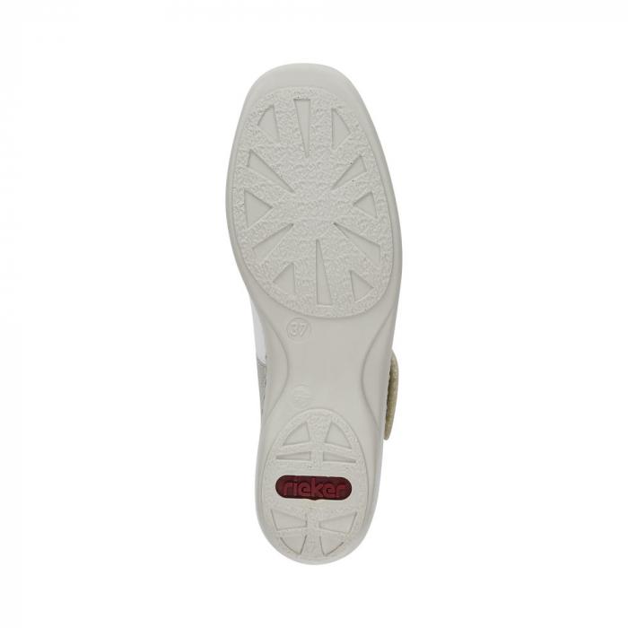 Pantofi decupati dama din piele naturala, 41368-80 6