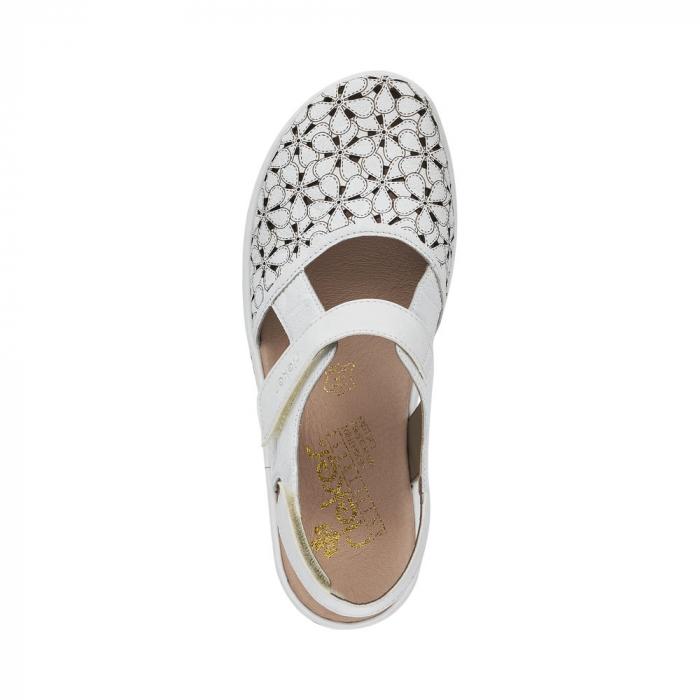 Pantofi decupati dama din piele naturala 47787-80 [1]