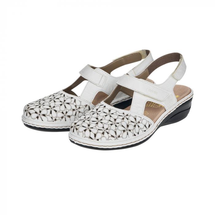 Pantofi decupati dama din piele naturala 47787-80 [6]