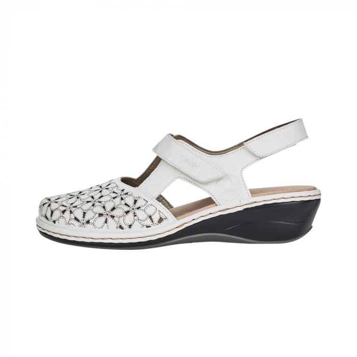 Pantofi decupati dama din piele naturala 47787-80 [4]