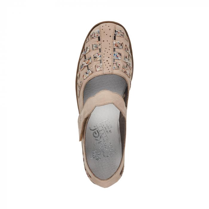 Pantofi decupati dama din piele naturala, 48369-60 [6]