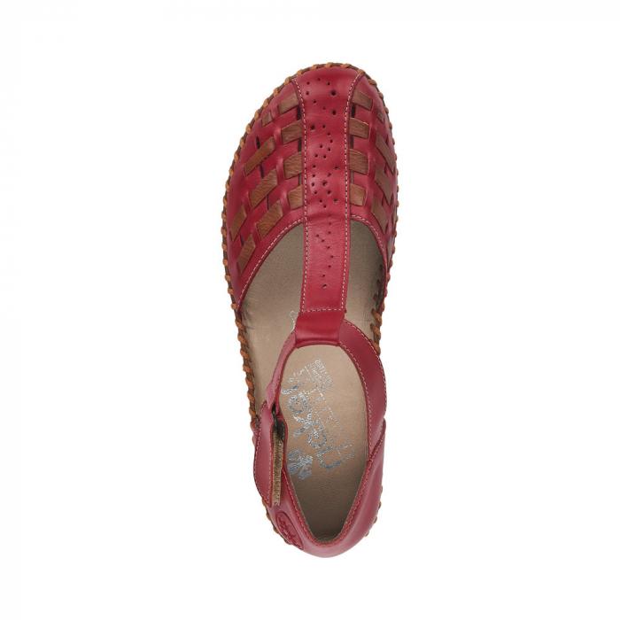 Pantofi decupati dama din piele naturala, M1658-33 1