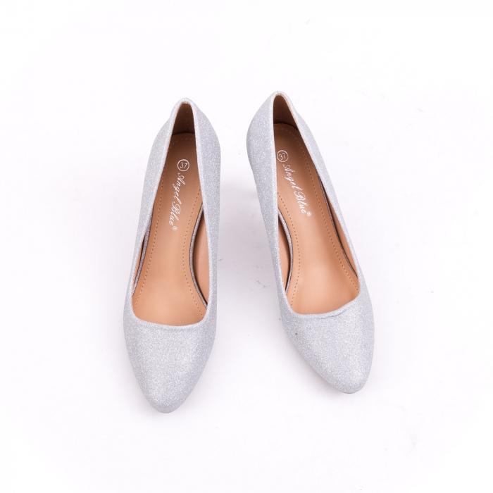 Pantof elegant 658 argintiu 5