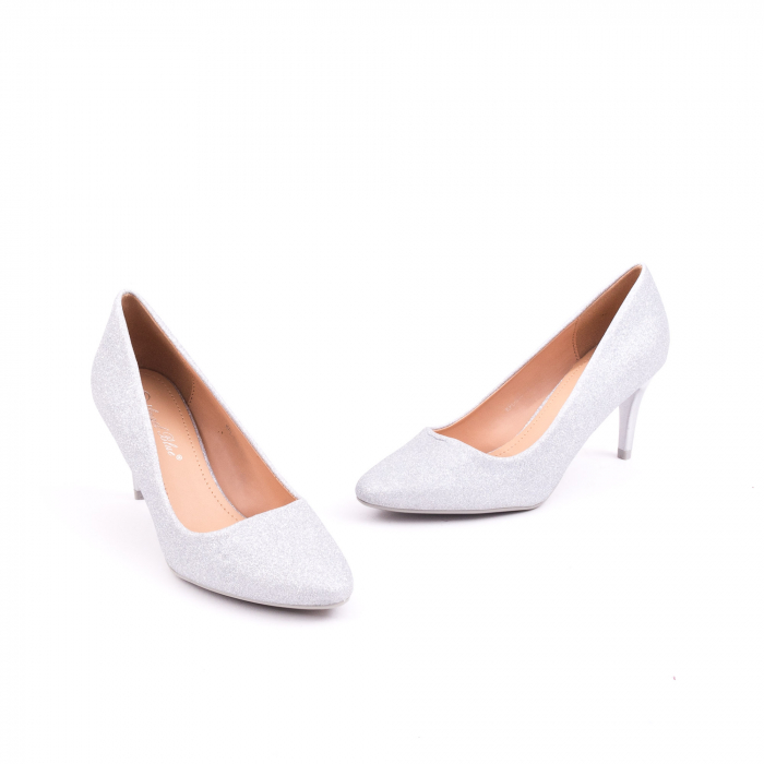 Pantof elegant 658 argintiu 1