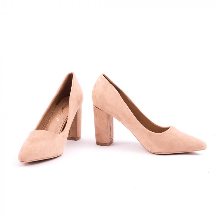 Pantof elegant 659 nude 4