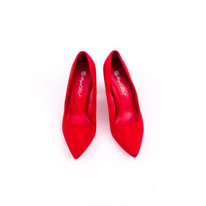 Pantof elegant 659 rosu 5