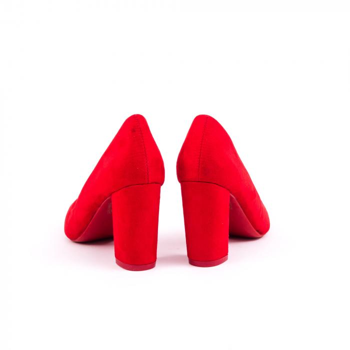 Pantof elegant 659 rosu 6