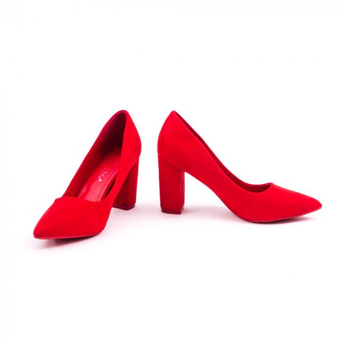 Pantof elegant 659 rosu 4
