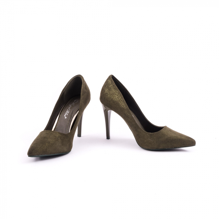 Pantof elegant 669 kaki 4
