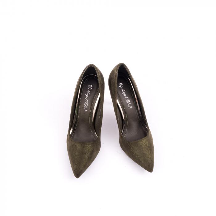 Pantof elegant 669 kaki 5