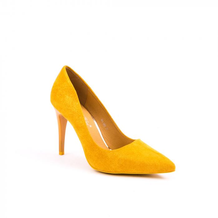 Pantof elegant 669 mustar 0
