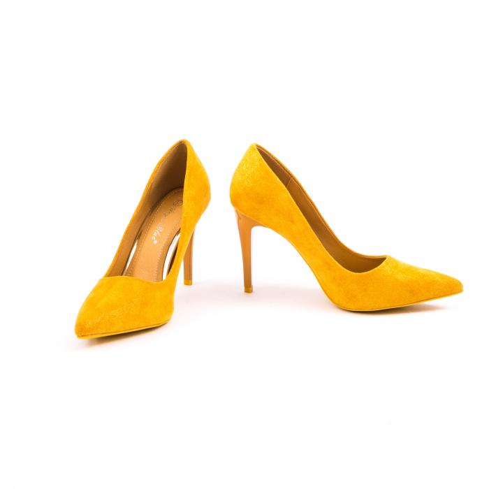 Pantof elegant 669 mustar 3