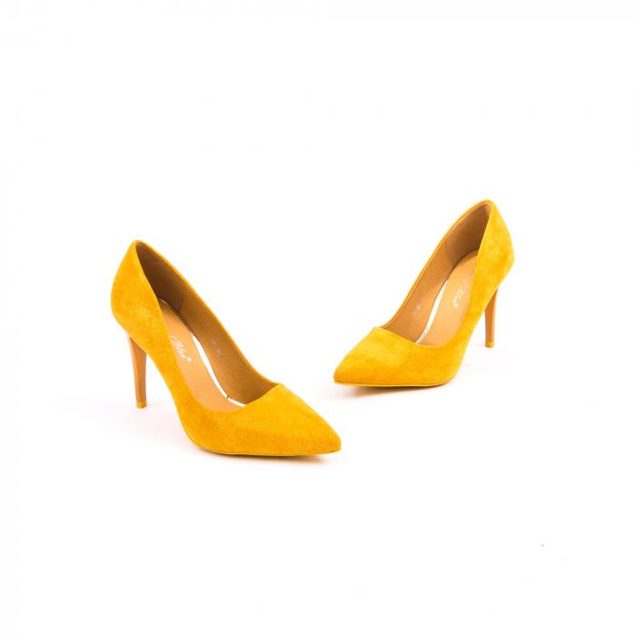 Pantof elegant 669 mustar 2