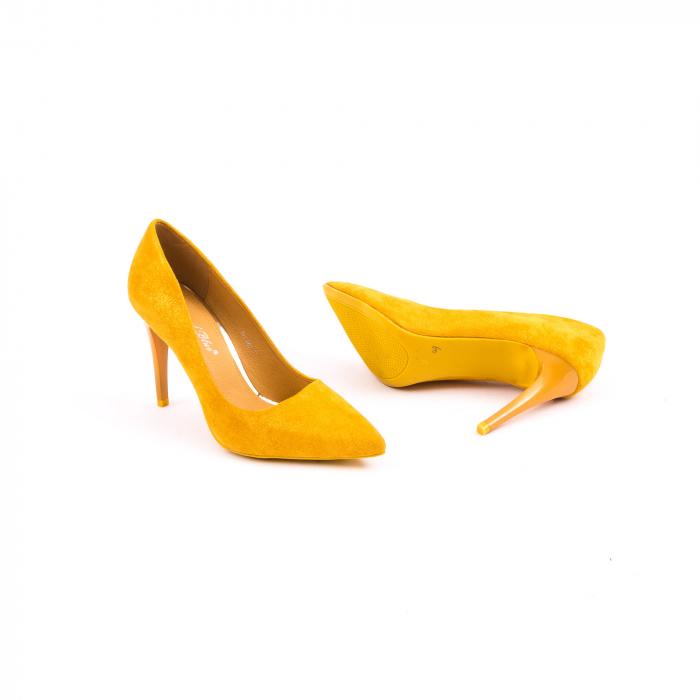 Pantof elegant 669 mustar 1