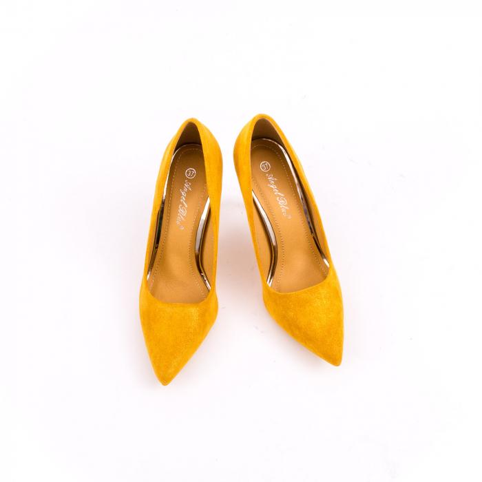 Pantof elegant 669 mustar 4