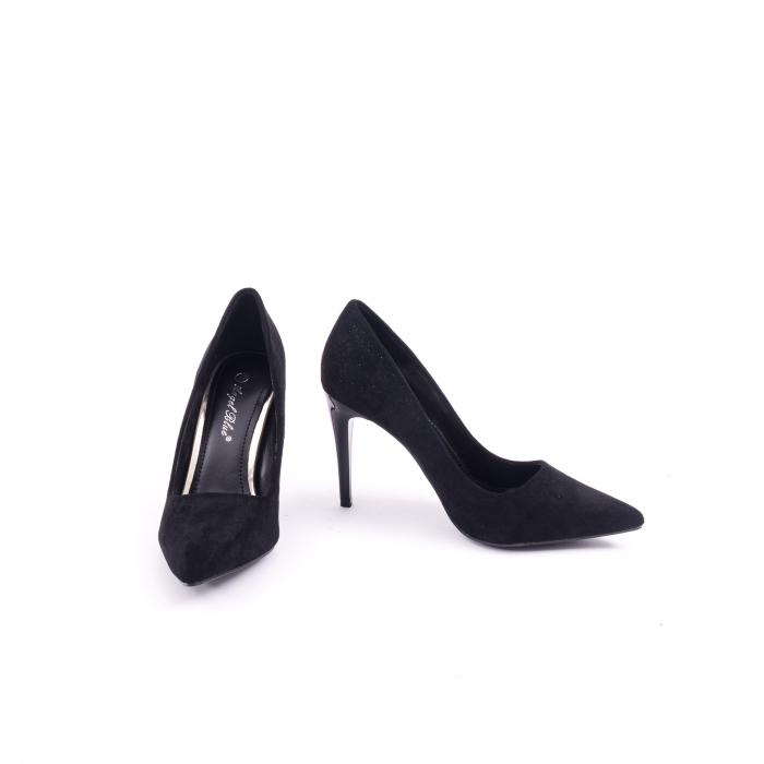 Pantof elegant 669 negru 4