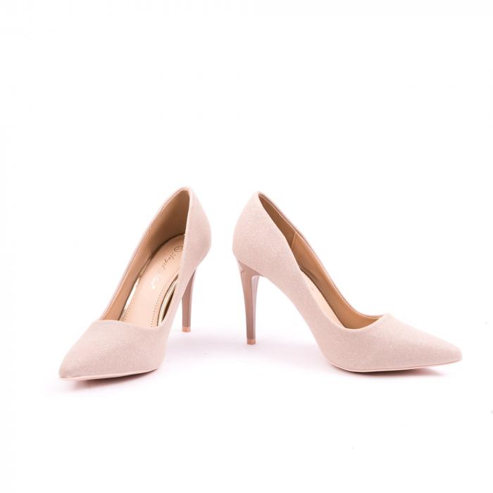 Pantof elegant 669 nude 3