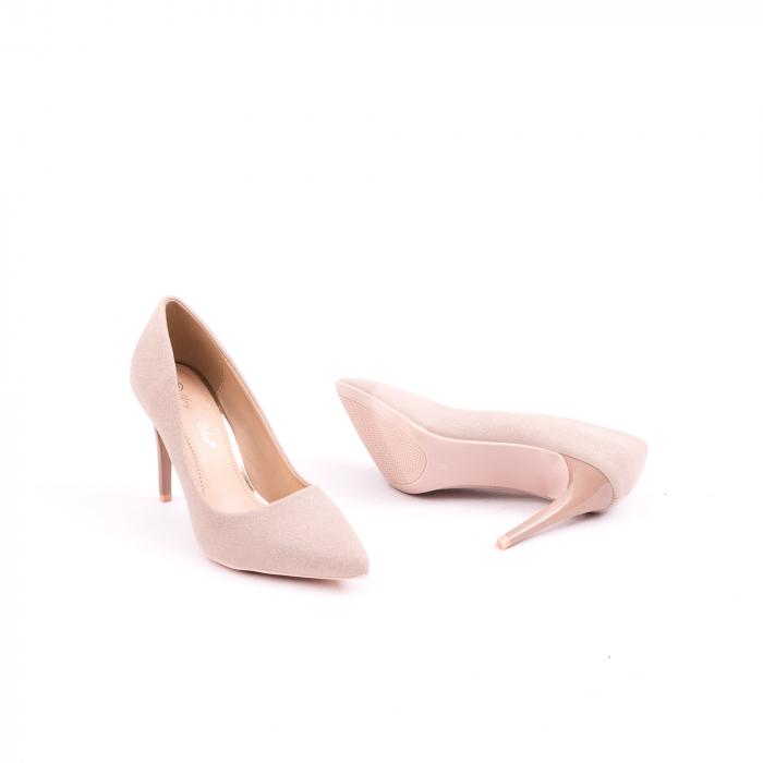 Pantof elegant 669 nude 2