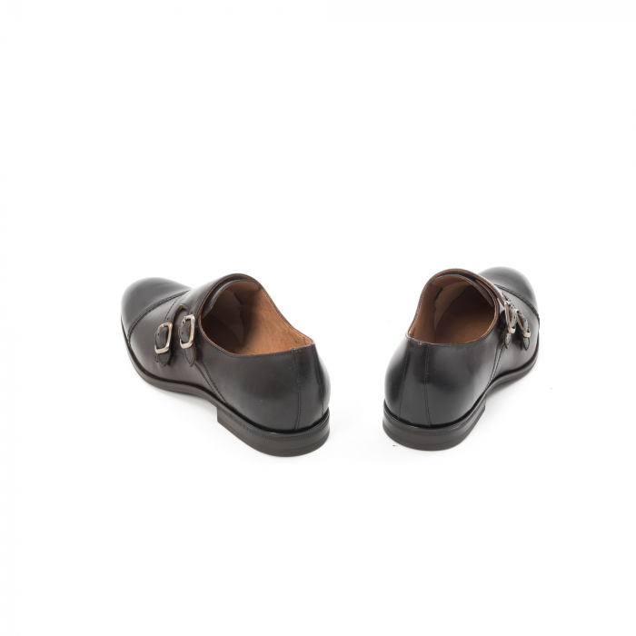 Pantofi barbati eleganti piele naturala Leofex 933, visiniu 6