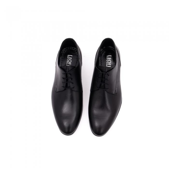 Pantof elegant barbat LFX 935 negru 5