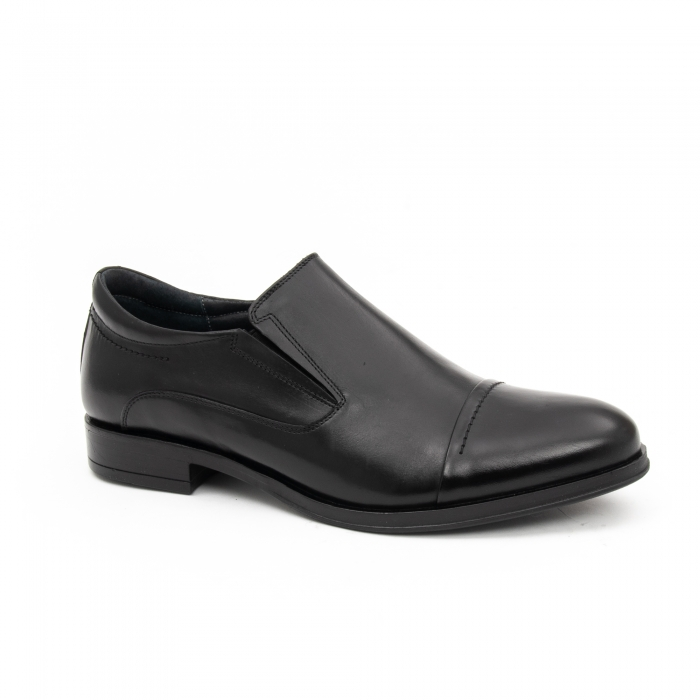 Pantof elegant barbat LFX 970 negru box 0