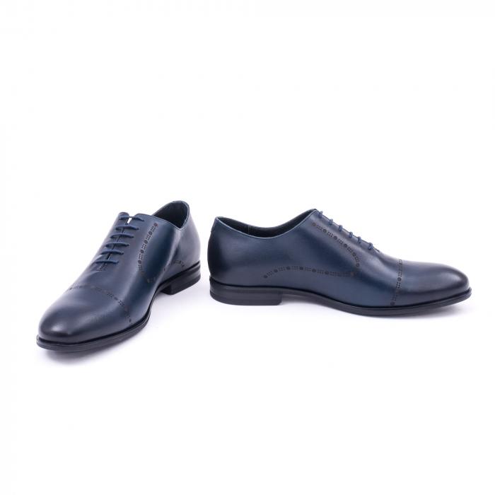 Pantof elegant barbati LFX 934 bleumarin 4