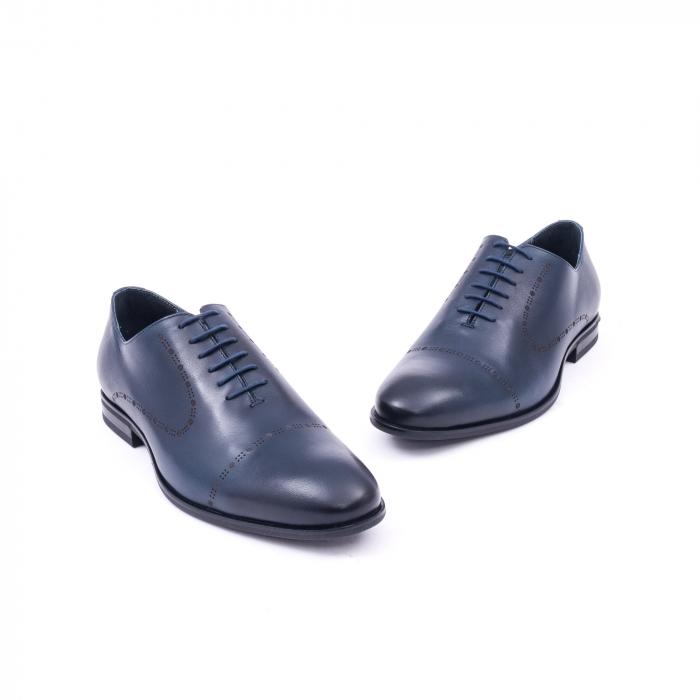 Pantof elegant barbati LFX 934 bleumarin 1
