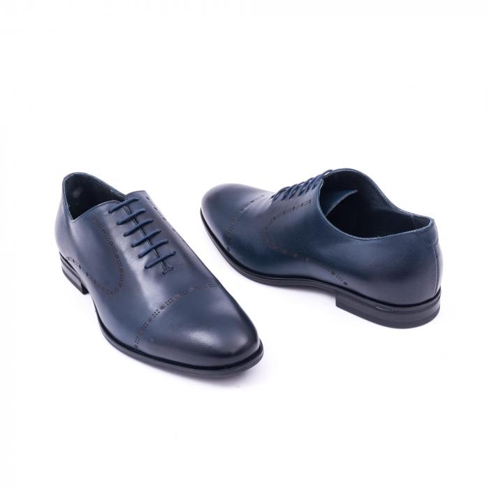 Pantof elegant barbati LFX 934 bleumarin 3
