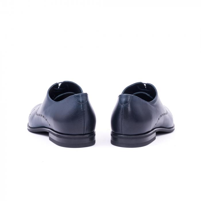 Pantof elegant barbati LFX 934 bleumarin 6