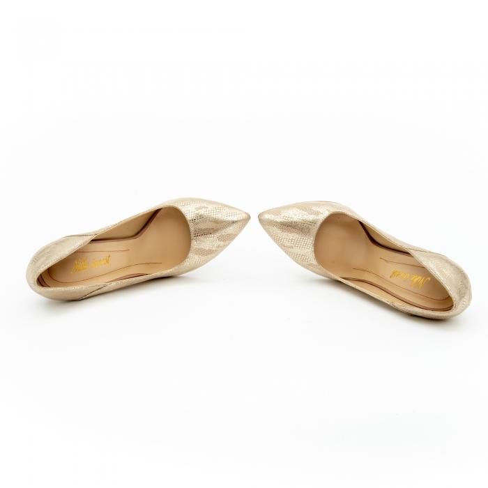 Pantof elegant dama 1106 auriu 5
