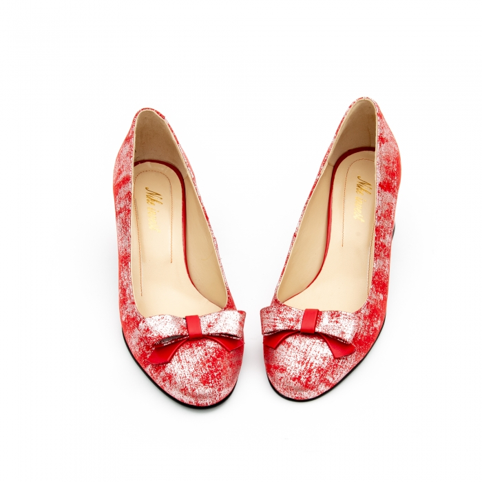 Pantof elegant dama -cod 1111 rosu 5