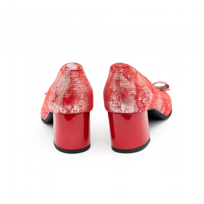 Pantof elegant dama -cod 1111 rosu 2