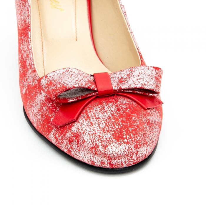 Pantof elegant dama -cod 1111 rosu 1