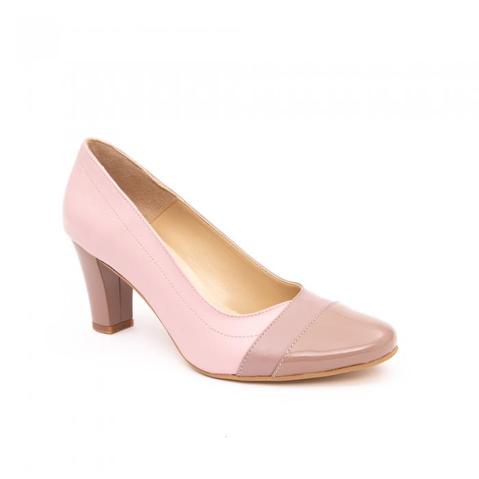 Pantof elegant dama -cod BBLB16 nude -crem 0