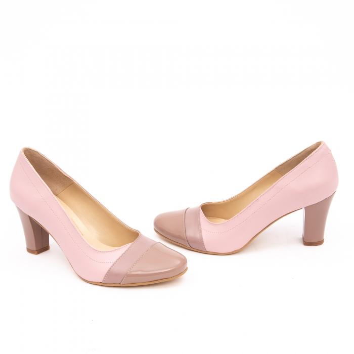 Pantof elegant dama -cod BBLB16 nude -crem 2