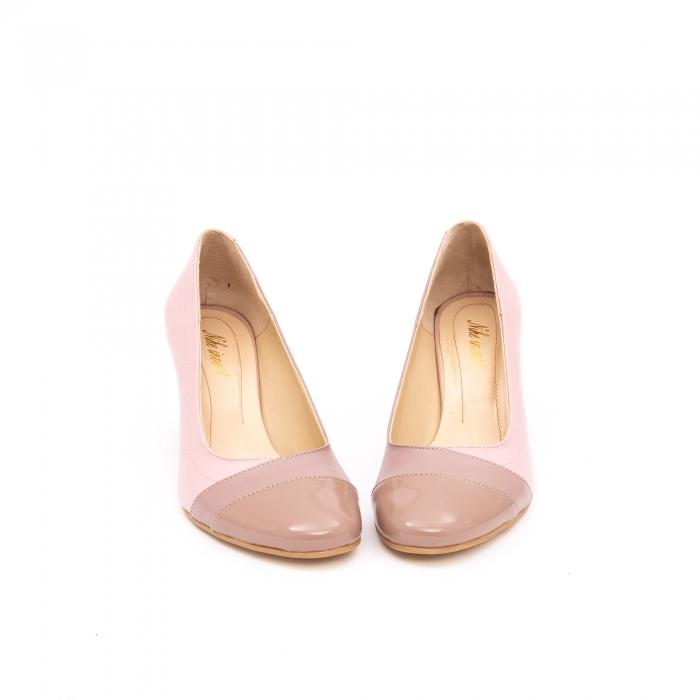 Pantof elegant dama -cod BBLB16 nude -crem 4