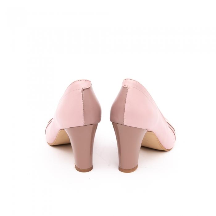 Pantof elegant dama -cod BBLB16 nude -crem 5