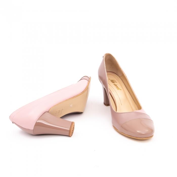 Pantof elegant dama -cod BBLB16 nude -crem 3