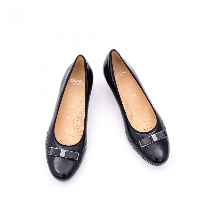 Pantof piele naturala lacuita marca ARA 12-35815 4