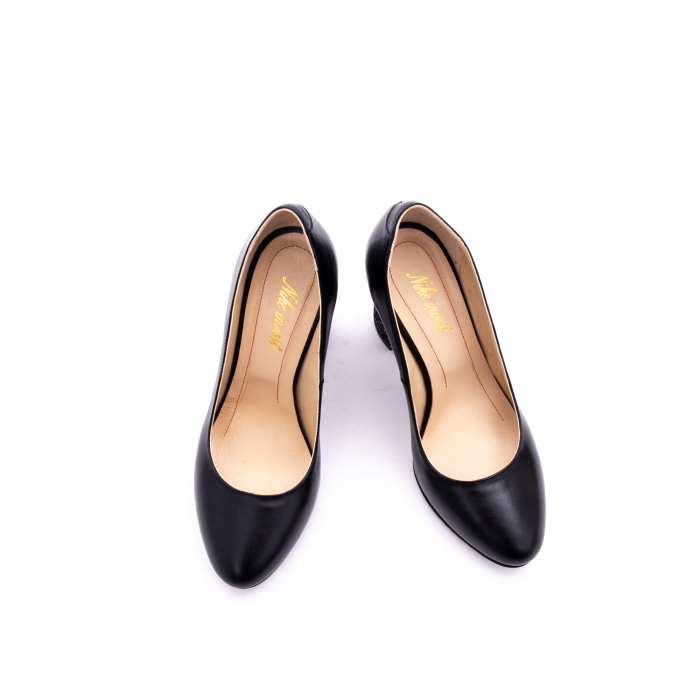 Pantof elegant dama marca Nike Invest 1014 negru 4
