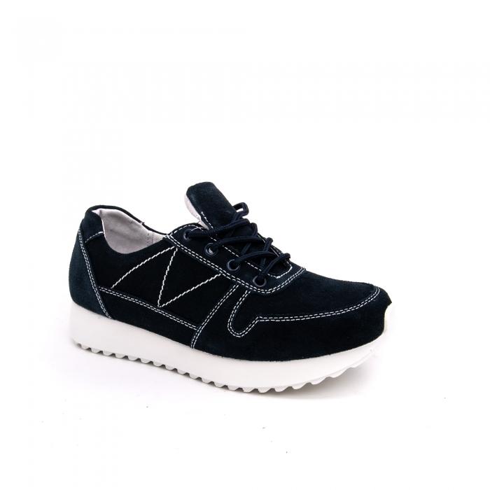 Pantof sport dama -cod F002-91 navy suede 0