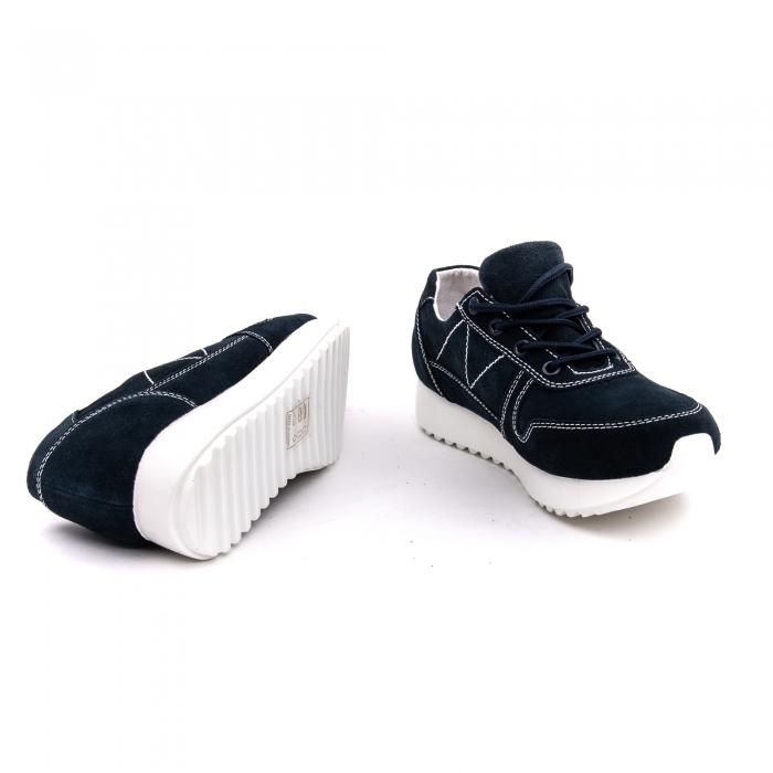 Pantof sport dama -cod F002-91 navy suede 4