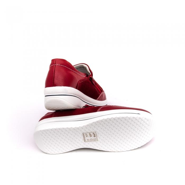 Pantof sport dama-cod F002-93 burgundy 3