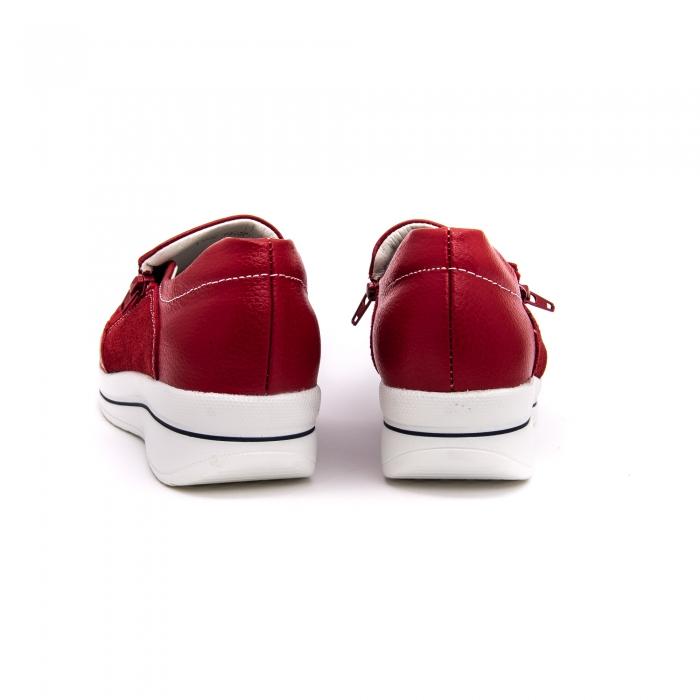 Pantof sport dama-cod F002-93 burgundy 5