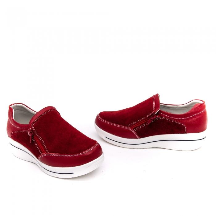 Pantof sport dama-cod F002-93 burgundy 1