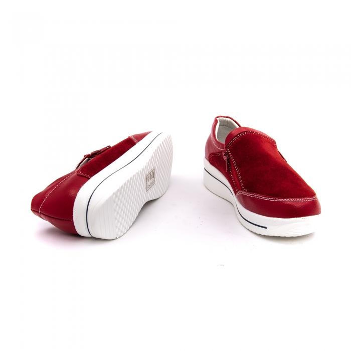 Pantof sport dama-cod F002-93 burgundy 4