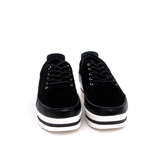 Pantof sport dama -cod VK-F001-447 black 3